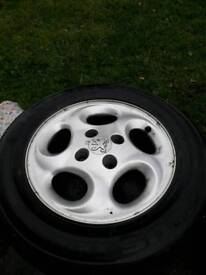 X3 Peugeot alloys
