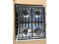 Neff 4 ring gas hob, 1 large, 2 medium and 1 small gas ring. Good condition, full working order