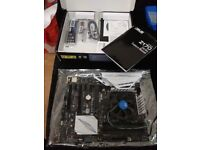 Asus Z170 Pro Motherboard 1151 with G3900, cooler, Crucial CT4G4DFS8213 4GB DDR4