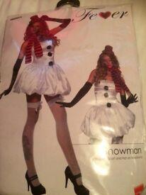 Snowman Christmas fancy dress outfit