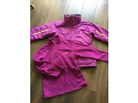 Dare 2be womens ski jacket and fleece top size 10