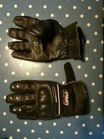 ARMR Moto motorbike gloves - AS NEW!