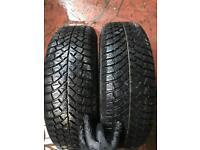 Winter tyres 175/65/14