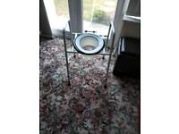 Disabled raised toilet seat