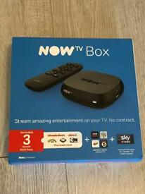 NOW TV Box - brand new sealed! with all included