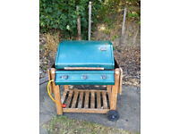 Winchester 3 Burner Gas barbecue with Calor 13kg Patio Gas Canister (half full)