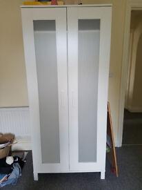 VGC White Ikea Wardrobe for sale