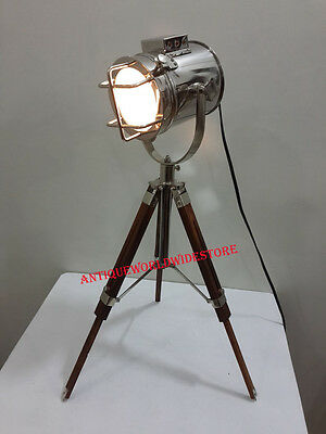 Collectible Spot Search Light Lamp With Tripod Stand Spot Table Lamp