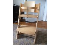 Stokke Tripp Trapp Highchair offered for sale in excellent condition