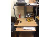 COMPUTER TABLE ON WHEEL-SIZE 70 CM X 50 CM X 150 CM