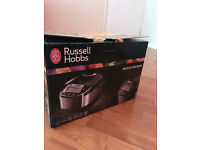 Russell Hobbs 21850 MultiCooker, 5 L - Stainless Steel Silver and Black