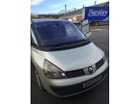 Clutch issue , starts 2003 03 Renault espace experession 7 seater family car van panoramic sunroof