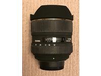 Sigma 12-24mm f4.5-5.6 (full frame) for Nikon