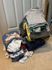 Bundle of Baby Boy / Unisex clothes aged 1 - 2 years