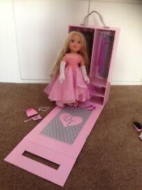Designa friend/ design a Friend / designafriend limited edition model doll Tiffany catwalk/ can posr