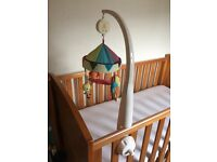 Baby/cot mobile - musical - great condition