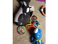 Baby Einstein play mat and music item