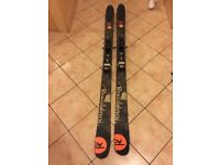 Rossignol S3 Ski Touring Ski. Marker Baron Binding with Black Diamond Skins