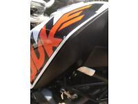 KTM DUKE 125cc 2015