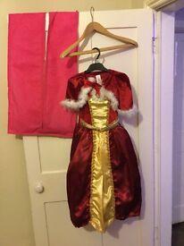 Belle fancy dress girls age 5-6yrs