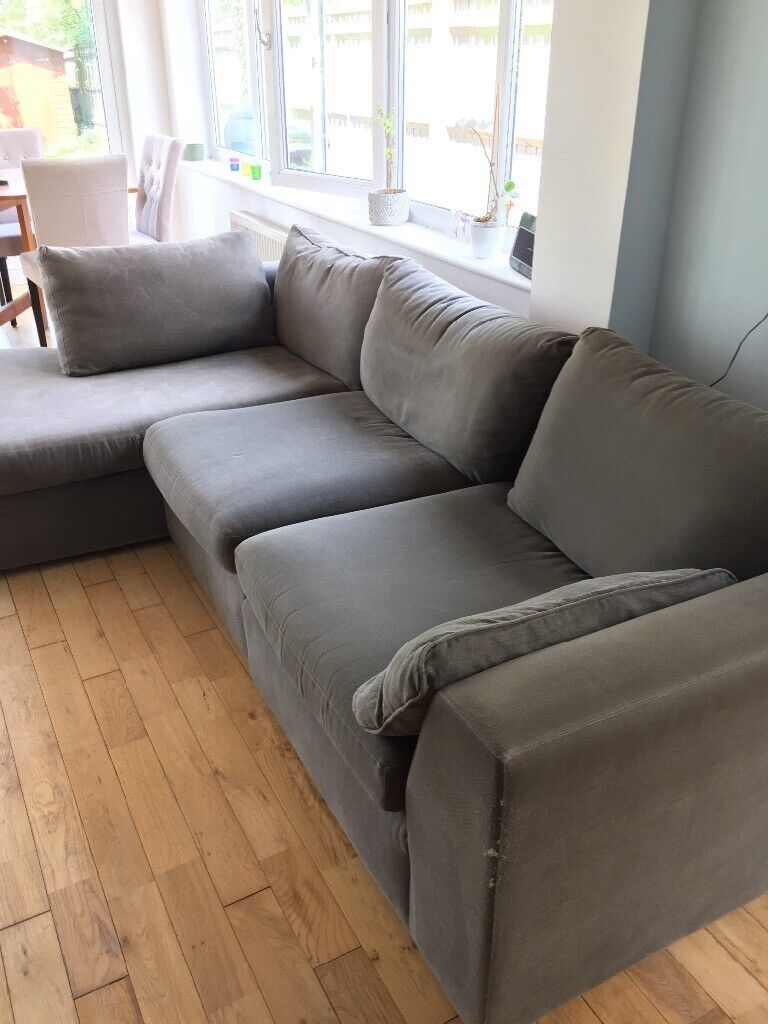Marks & Spencer 3 Seater Sofa With Chaise