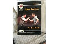 GCSE English blood brothers text guide