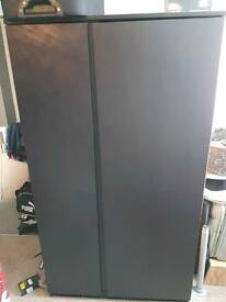 2xDark brown wardrobe £50each or £80 together