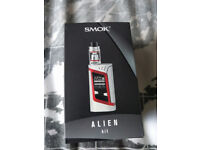 BARGAIN!!! Vape Kit - Smok Alien 220W with TWO tanks (Aspire Clieto 2ml & Aspire Cleito Exo 2ml)