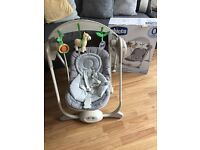 Chicco Polly Swing - Grey - excellent condition