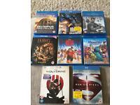 Blu Ray Movies....X8