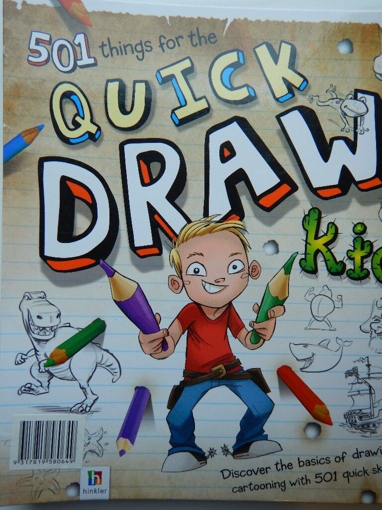 Drawing Books Quick Draw Fantasy Art Funky Things To Draw In