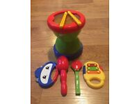 ELC drum and musical instruments