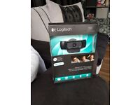 Logitech C920 Immaculate. Boxed