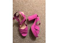 Ladies Sandals Fuchsia NEW 4£! UK5/38
