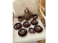Studio Pottery Glynn Hugo Coffee Set