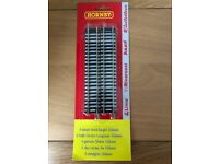 Hornby R600 Straight Train Track x4 Blister Pack. Brand New