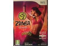 Wii Zumba Fitness w/ Fitness Belt