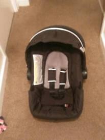 Hauck Car seat 0+ black