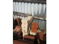73mm Buff (yellow) brick for sale