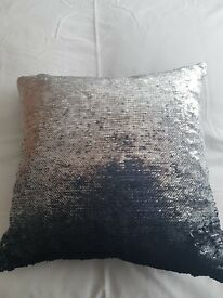 """Next"" Reversible Sequin Cushion"