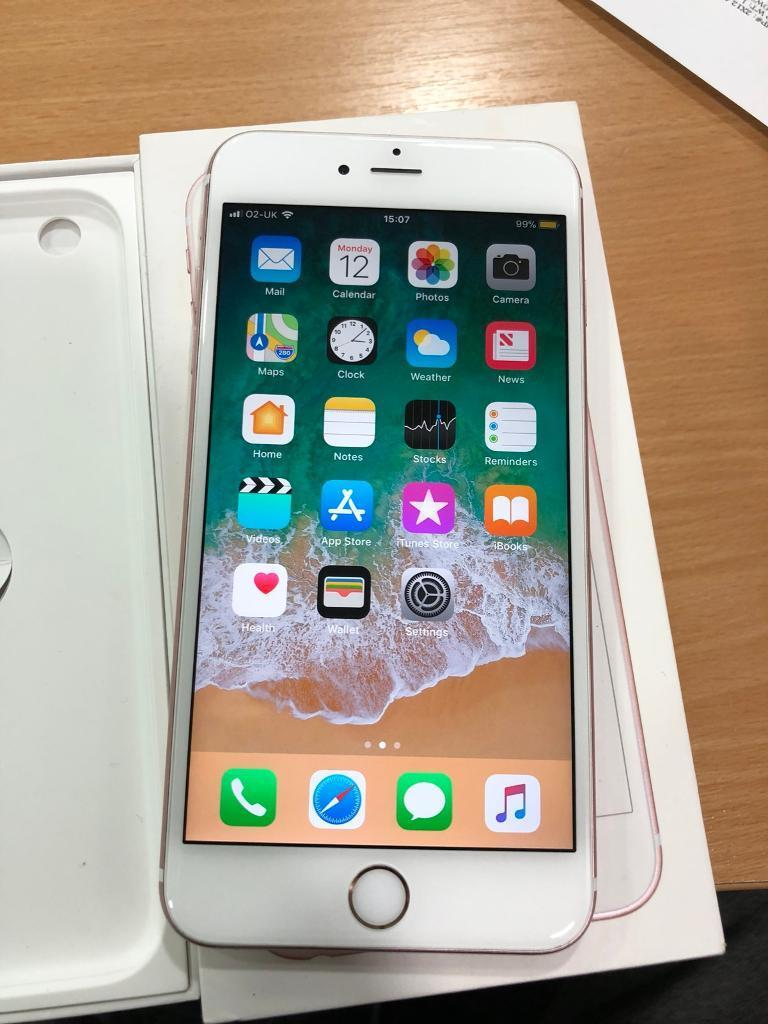APPLE IPHONE 6S ROSE GOLD 64GB UNLOCKED MINT CONDITION