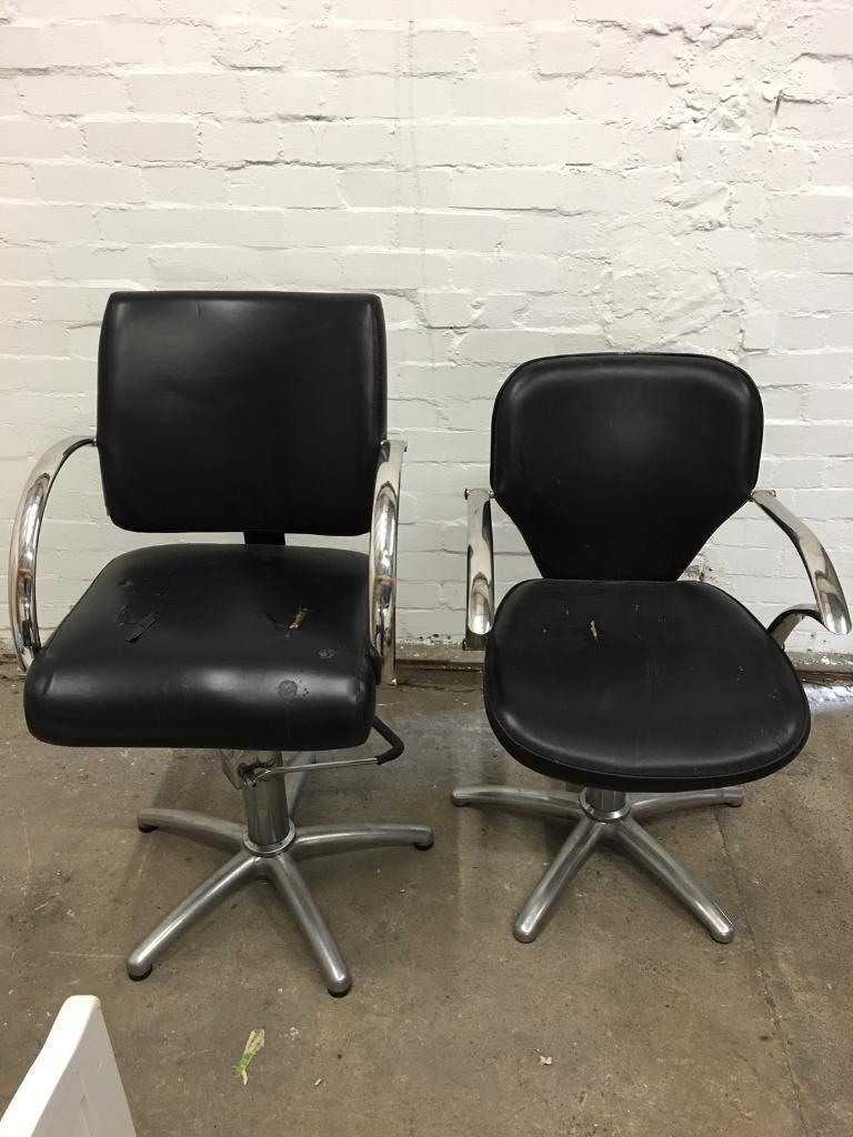 Cool 2 Black Leather Barber Chairs With Pump Action In Wombwell South Yorkshire Gumtree Gmtry Best Dining Table And Chair Ideas Images Gmtryco
