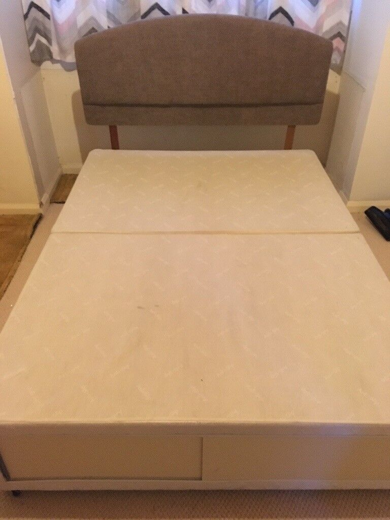 Divan Double Bed With head rest