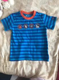 Boys age 4-5 tshirt 50p