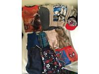 Bundle of boy's summer clothes 6 year old