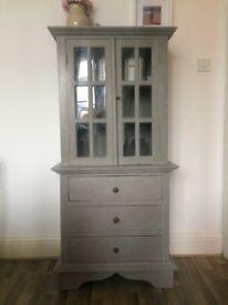 Vintage solid wood cupboard / cabinet