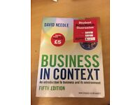 Business in Context fifth edition David Needle
