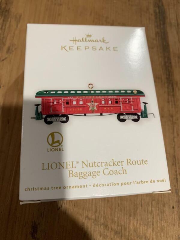 Hallmark Ornament Lionel Trains Nutcracker Route Baggage Coach 2012 Christmas