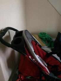 Graco pushchair in chilli res