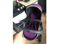 iCandy push chair, carrycot and maxicosy car seat
